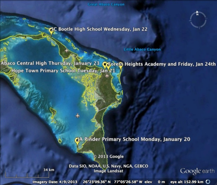 abaco schedule